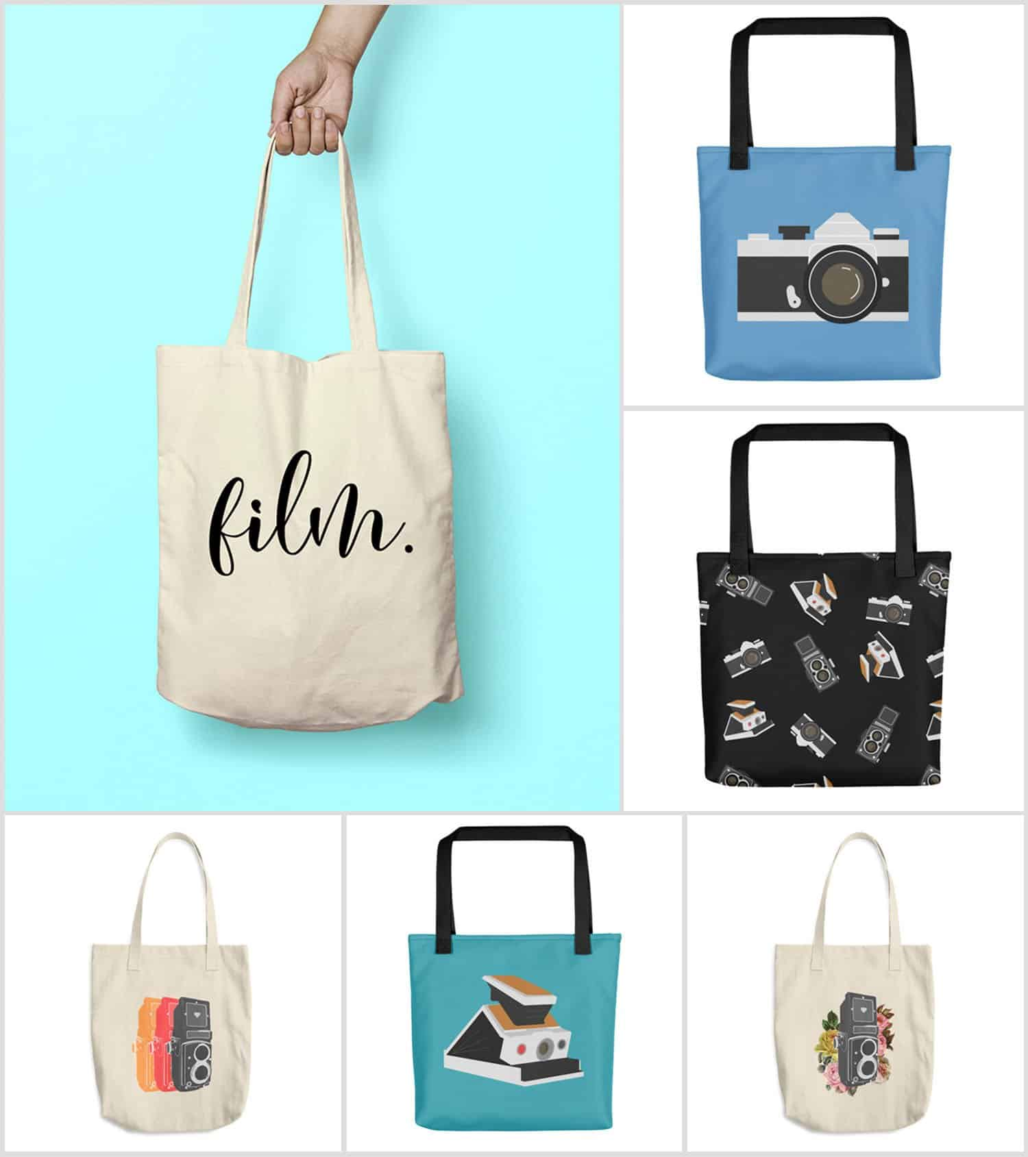 Film Photography Tote Bags from Shoot It With Film