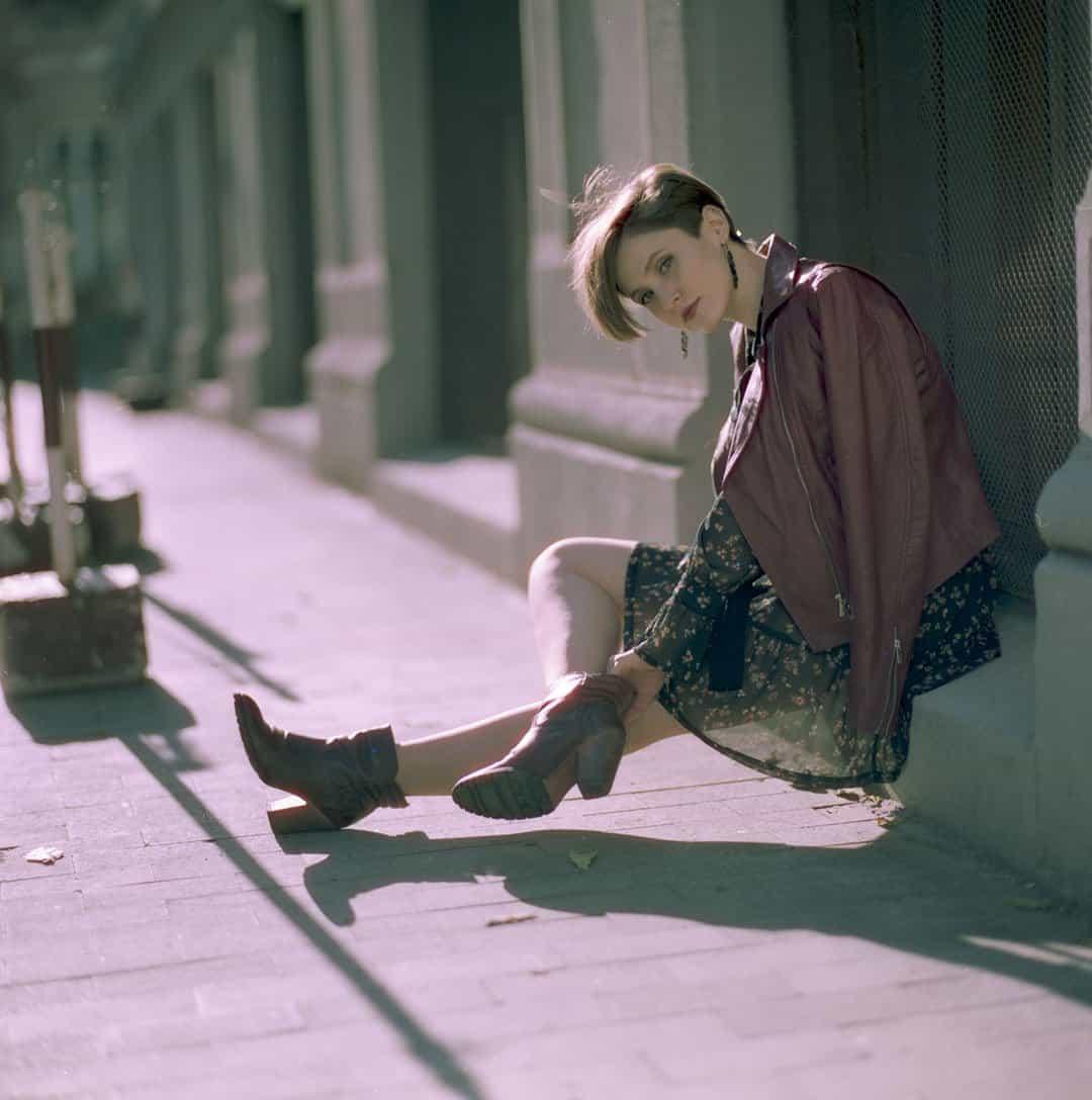 Shoot It With Film Cristi Mirica Medium Format Film Portraits
