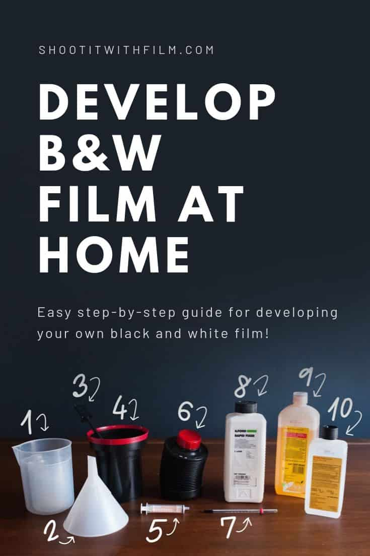 How to Develop Black and White Film at Home on Shoot It With Film