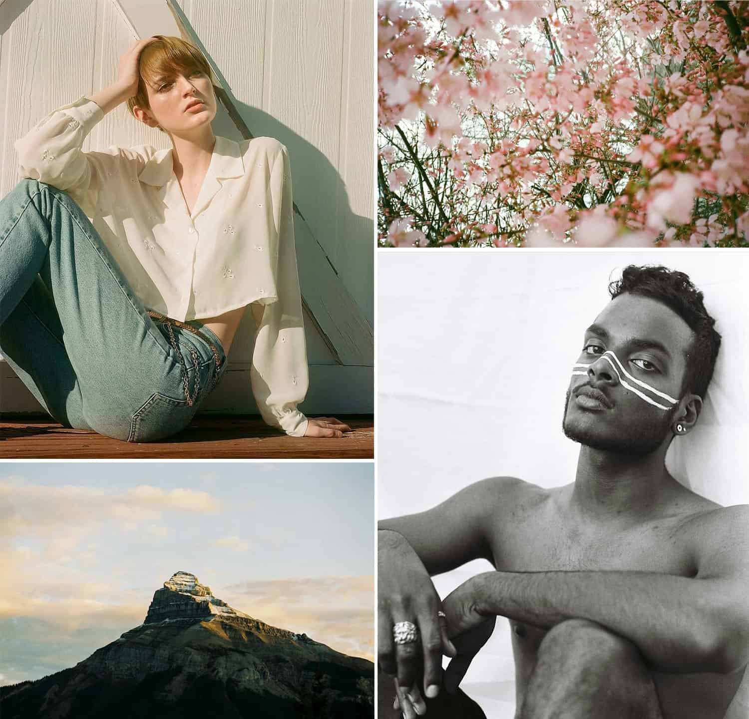 Shoot It With Film Instagram Roundup Mountain Tops and Spring Flowers
