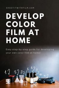 How to Develop Color Film at Home - 35mm and Medium Format Film Photography