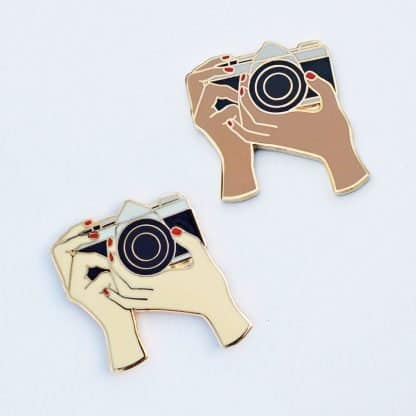 Film Photography Enamel Pins on Shoot It With Film