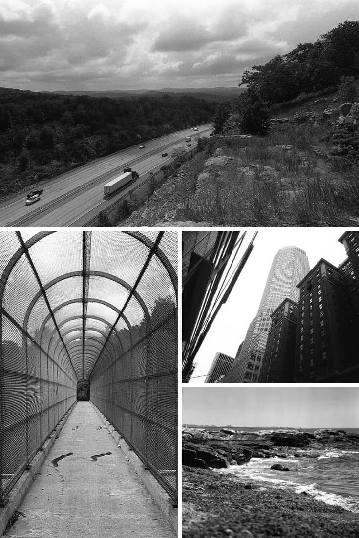 35mm Black and White Film Photography New York City Travel Series