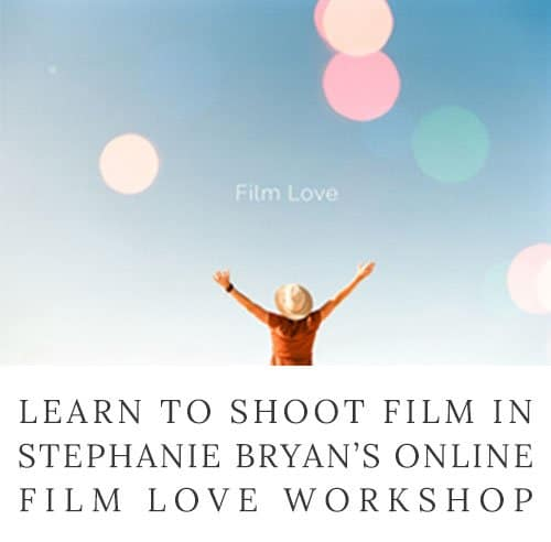 Learn to shoot film with this in-depth online workshop from Stephanie Bryan