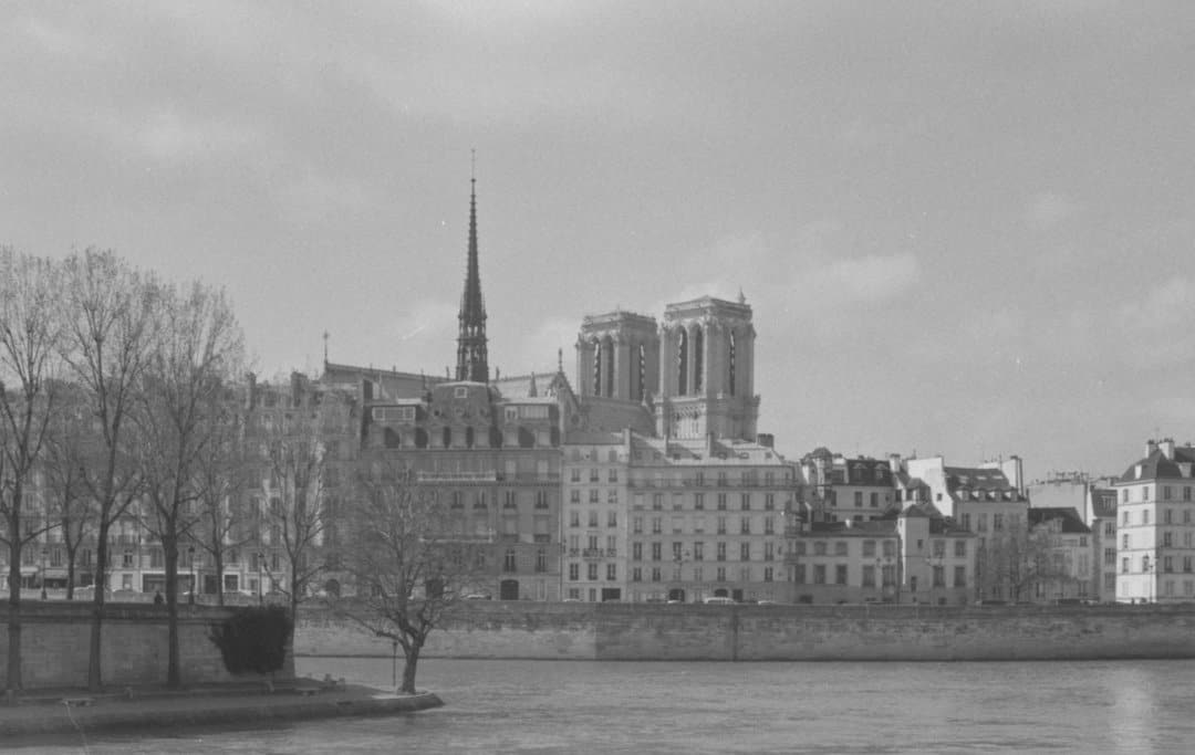 A Paris Travel Story on Black and White Film by Martina Rigotti on Shoot It With Film