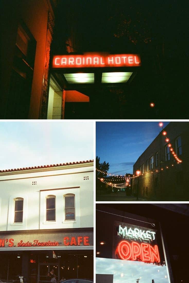 35mm Film Photography California on CineStill 800T