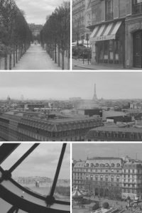 35mm Paris Travel Story on Black and White Film