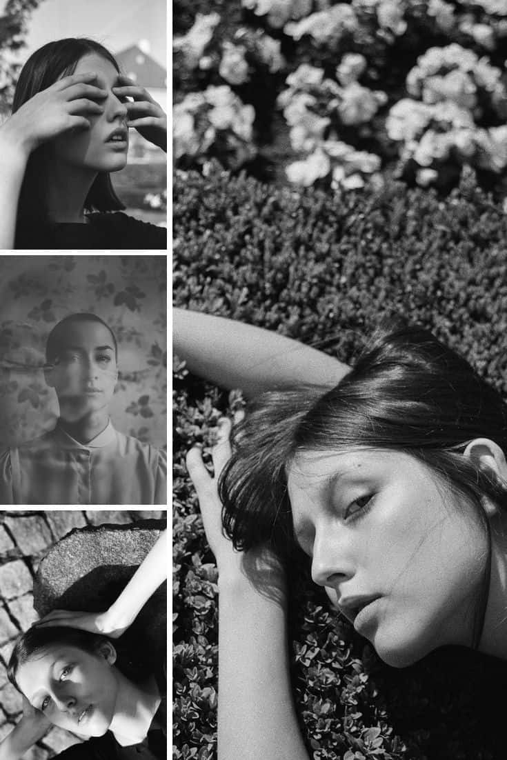 35mm Film Photography B&W Fine Art Portraiture