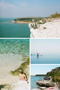 35mm Film Photography Landscapes Shades of Blue on Shoot It With Film