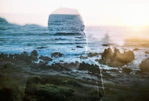 Double Exposures on the Coast of Chile by Brooke Fitzwater on Shoot It With Film