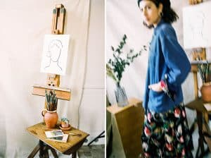 Art Studio Portrait Series by Ellen Richardson on Shoot It With Film