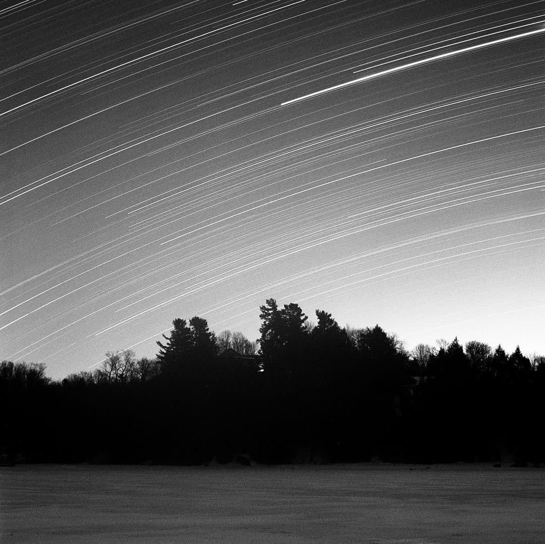 Star Trails on Film: How to Shoot Film Photography Star Trails by James Baturin on Shoot It With Film
