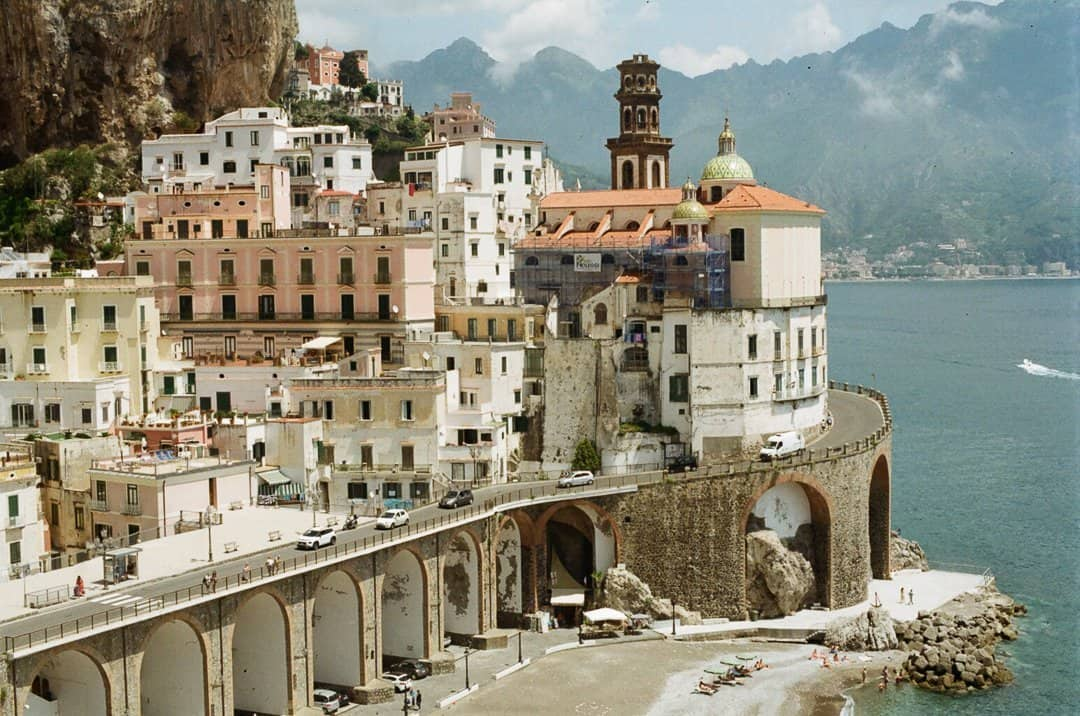 35mm Film Photography Atrani Italy Travel Story by Skye Kuppig on Shoot It With Film