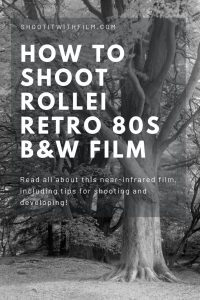How to Shoot Rollei Retro 80S Black & White Film - 35mm and Medium Format Film Photography