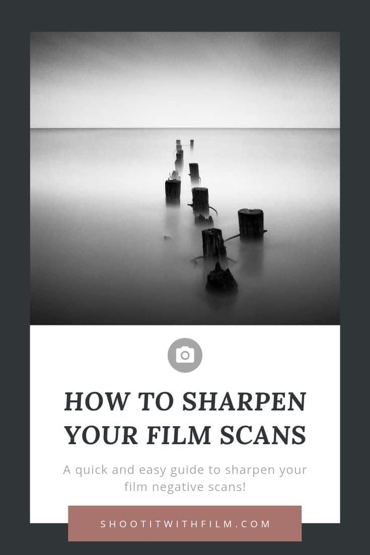 How to Sharpen Your Film Scans