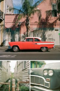 35mm and Medium Format Film Photography New Orleans Travel Story