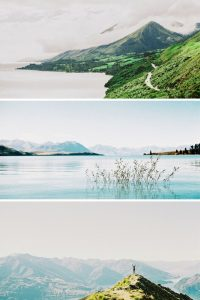 Image collage - Canon A1 35mm New Zealand Travel Story on Shoot It With Film