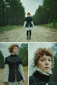 Medium Format Vintage Fashion Editorial Mamiya RZ67 Kodak Portra 160