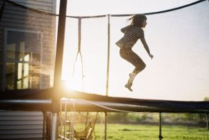 3 Tips for Photographing Children on Film by Samantha Stortecky on Shoot It With Film - Jumping on a trampoline