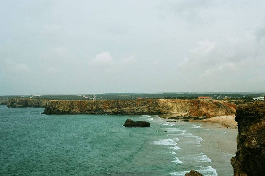 Seascape - 35mm UK Landscapes by Matt Cooper on Shoot It With Film