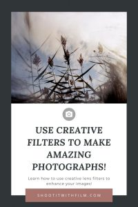 Using Creative Filters to Enhance Your Photography