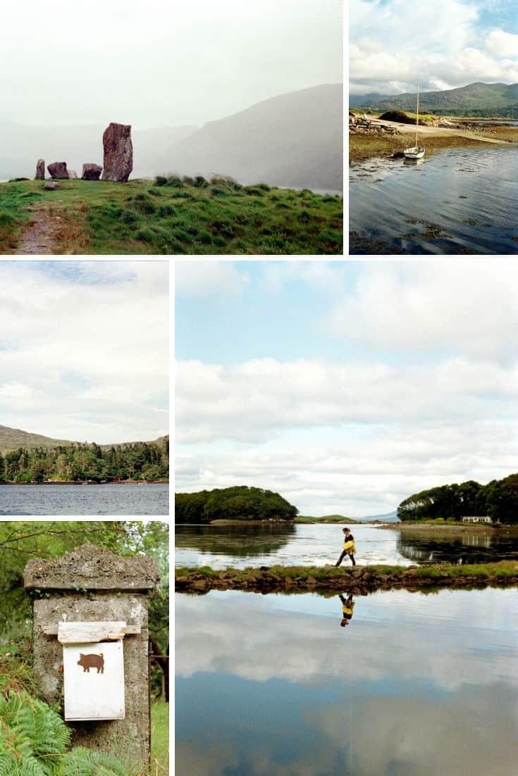 35mm Film Photography Ireland Travel Story Canon A-1 Kodak Gold 200