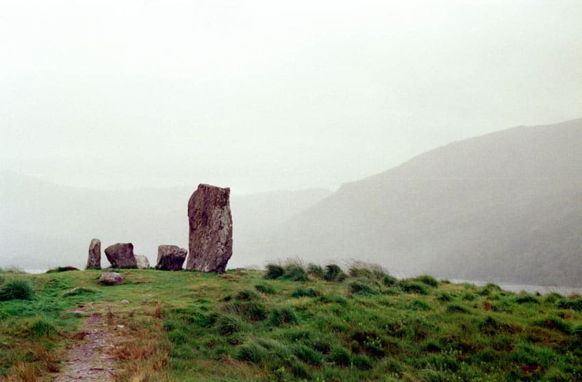 Foggy morning - Ireland Travel Story on 35mm Film with the Canon A-1 and Kodak Gold 200