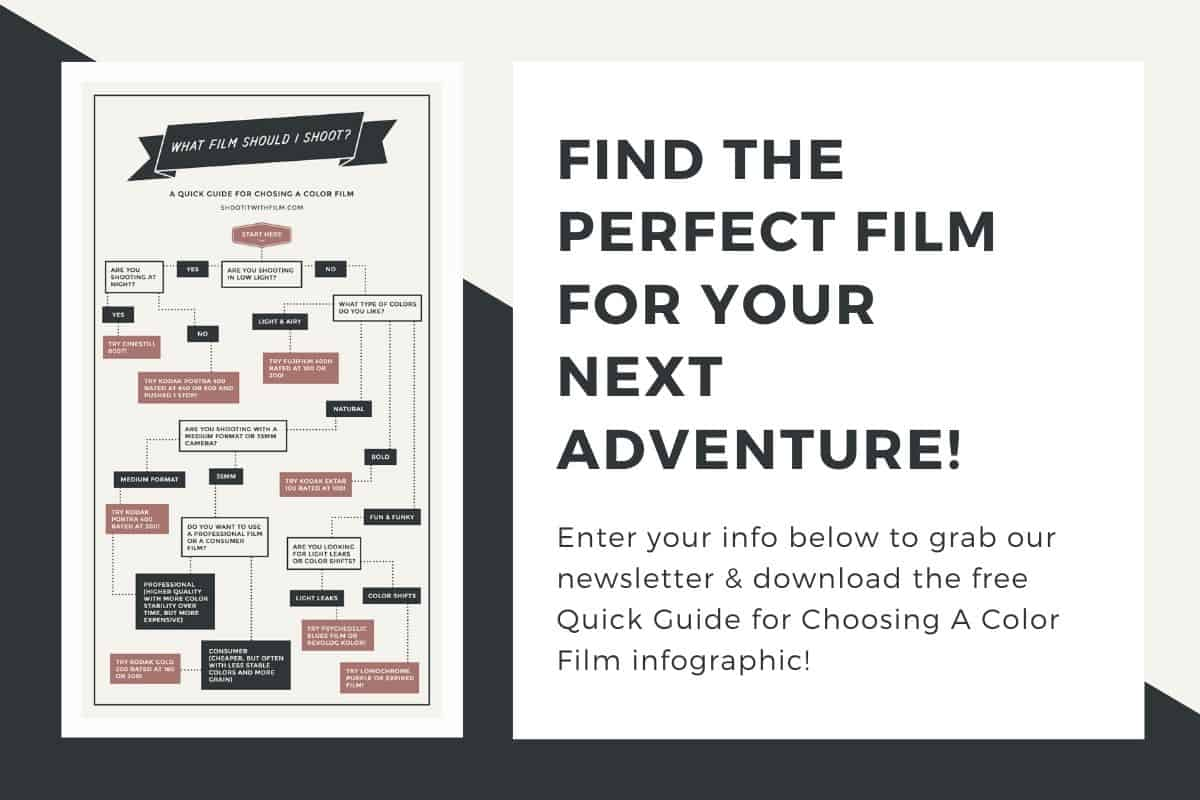 Choosing A Color Film Infographic