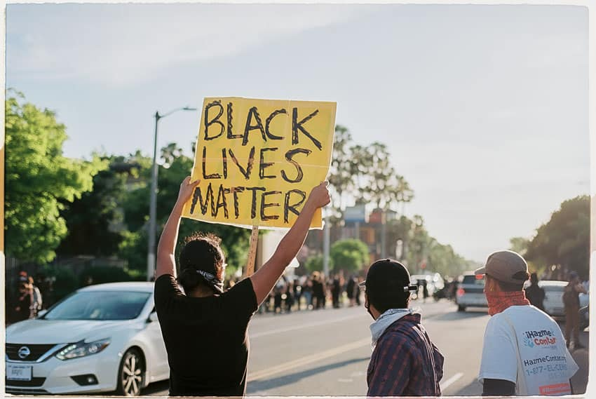 Los Angeles Black Lives Matter Protests on 35mm Film by Filmon Seyoum on Shoot It With Film