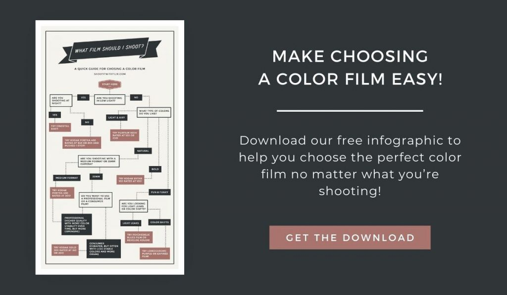Download the Choosing a Color Film Infographic!