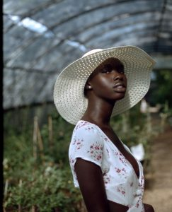 Woman in Greenhouse - Creative Portraits on Film by Zerb Mellish on Shoot It With Film
