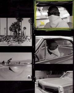 Film Contact Sheet - Creative Portraits on Film by Zerb Mellish on Shoot It With Film