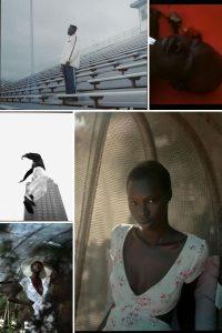 Collage of Portraits - Dynamic Portrait on Film Mamiya RB67 Canon AE-1