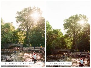 Family Camping - Fuji Superia vs Kodak Ultramax Film Stock Comparison by Amy Berge on Shoot It With Film