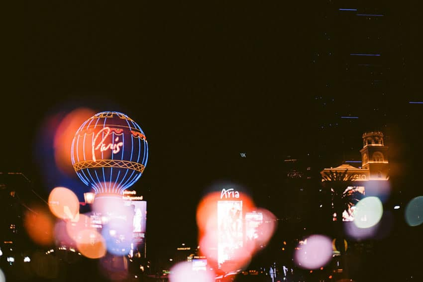Las Vegas Night Photography on Film by Sara Johansen on Shoot It With Film