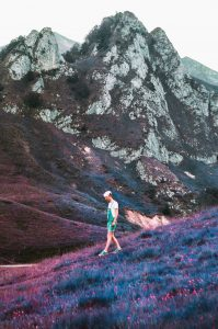 Pyrenees Mountain Range on Lomochrome Purple by Andrew Foster on Shoot It With Film