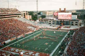 Image of a football stadium - 5 Film Cameras Under 50 Dollars by Jennifer Stamps on Shoot It With Film