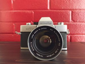 The Minolta SRT-101 film camera - 5 Film Cameras Under 50 Dollars by Jennifer Stamps on Shoot It With Film
