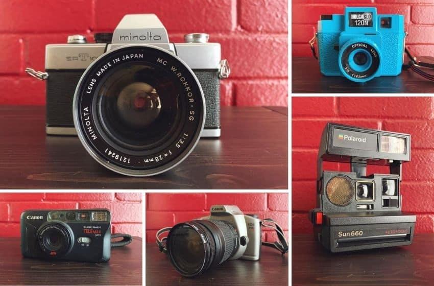 5 Film Cameras Under 50 Dollars