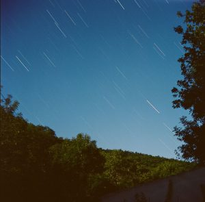 Star trails at night - French Catalonia Travel Story by Michael Raven on Shoot It With Film
