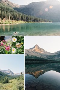 35mm Film Photography Glacier National Park Nikon FM2 Fuji 400H