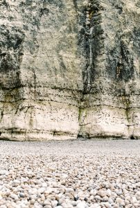 Landscape of a French on 35mm film - Cliffs of Etreat France Travel Story by Marissa Wu on Shoot It With Film