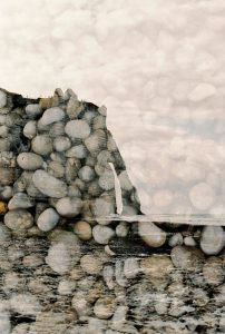 Pebbles on a French beach on 35mm film - Cliffs of Etreat France Travel Story by Marissa Wu on Shoot It With Film