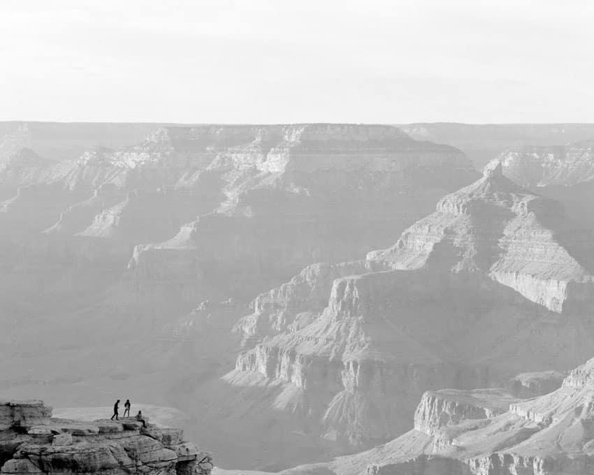 Черно-белый пейзаж на пленке Ilford Delta 400 - Путеводитель по фильму Ilford BW, Дэвид Роуз на съемках фильма