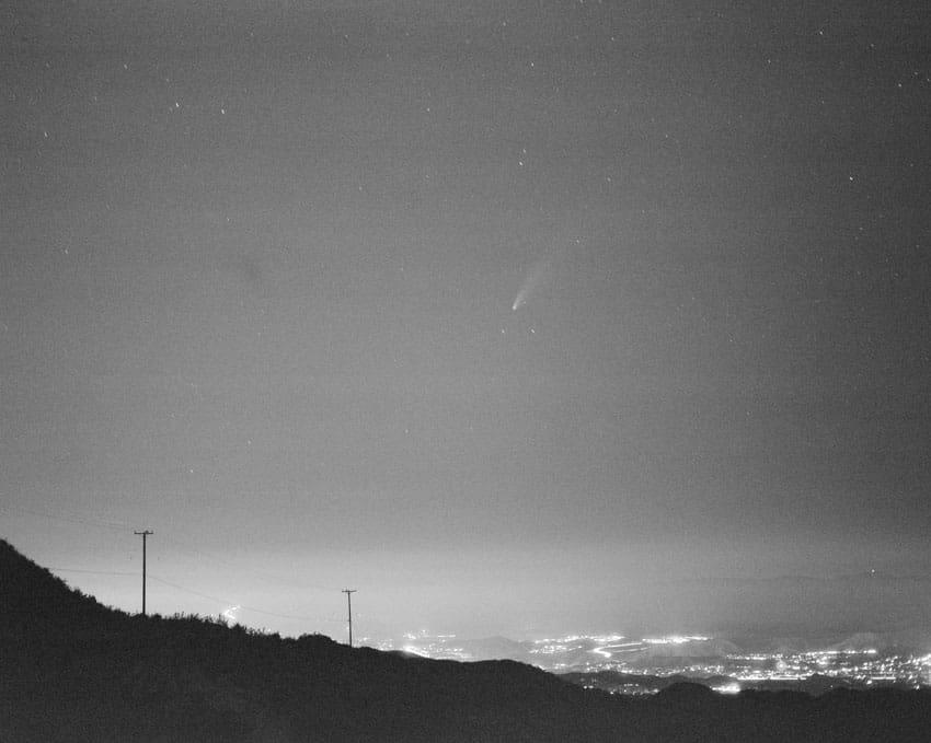 Черно-белый пейзаж на пленке Ilford Delta 3200 - Путеводитель по фильму Ilford BW, Дэвид Роуз на съемках фильма