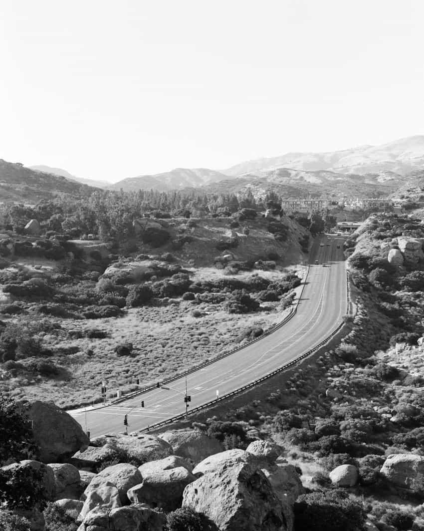Черно-белый пейзаж на пленке Ilford FP4 - Путеводитель по фильму Ilford BW от Дэвида Роуза на сайте Shoot It With Film