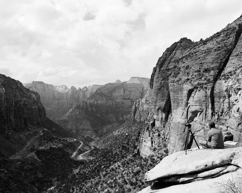 Черно-белый пейзаж на пленке Ilford HP5 - Путеводитель по фильму Ilford BW от Дэвида Роуза на тему «Снимайте с пленки»