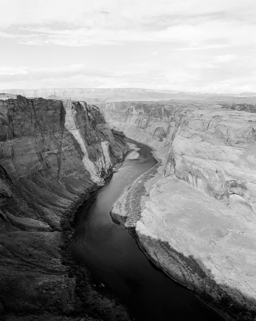 Черно-белый пейзаж на пленке Илфорда Пан Ф Плюс - Путеводитель по фильму Илфорд BW Дэвида Роуза на съемках фильма