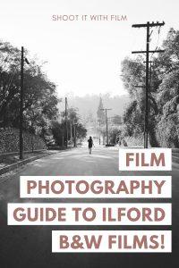 Ilford Black and White Film Stock Comparison