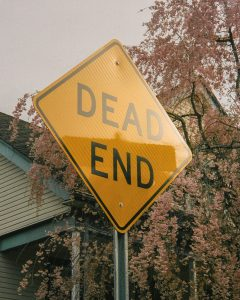 Dead end sign - The Seed I Nurtured Fine Art Series by Chloe Xiang on Shoot It With Film